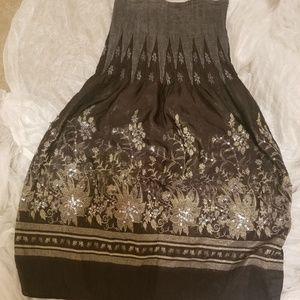 Lapis bling tube dress/coverup s/m/l